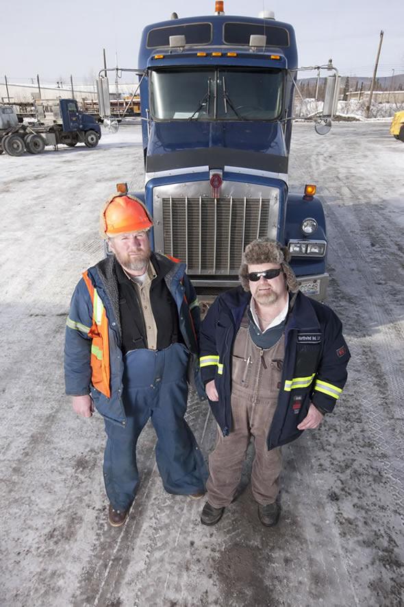 Ice Road Trucker at Truckfest